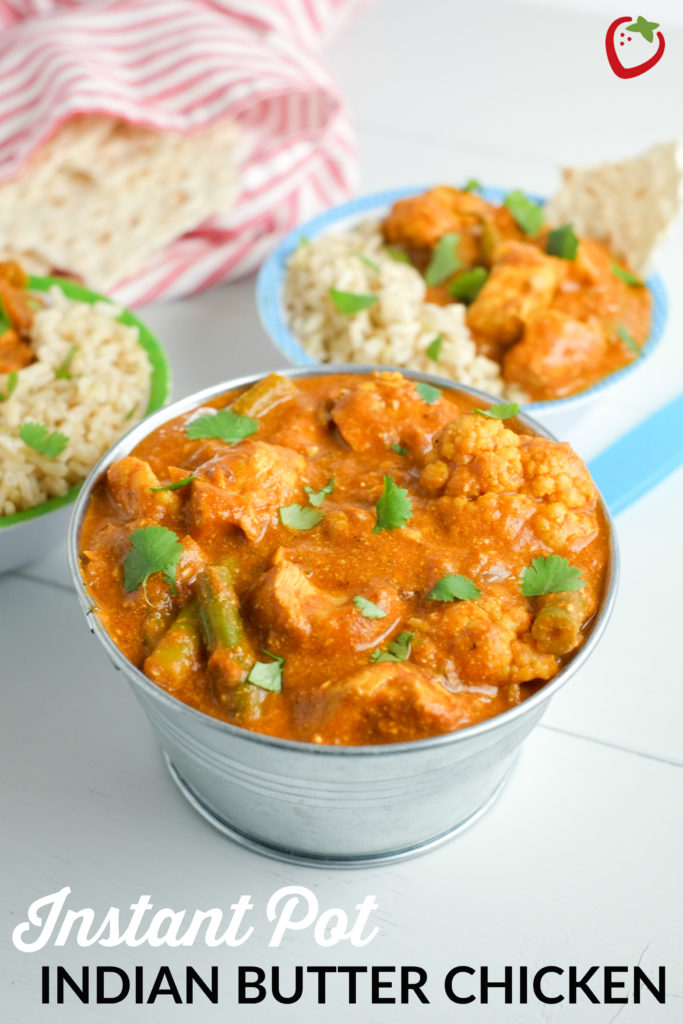Instant Pot Indian Butter Chicken Recipe | Healthy Ideas ...