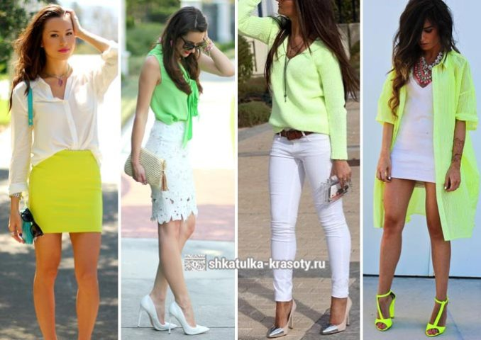 lime color in clothes