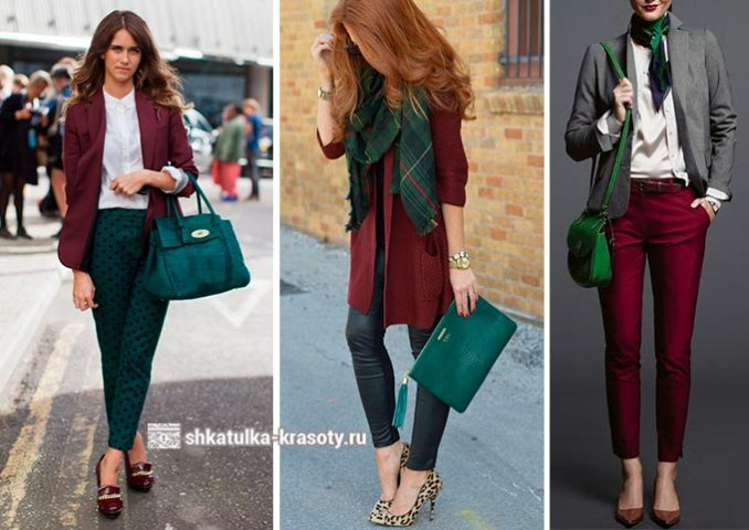 marsala color in clothes