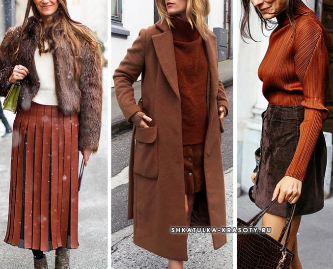 images of combinations with brown