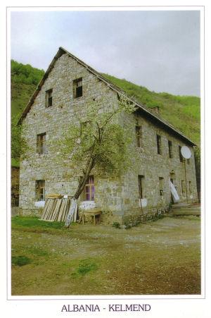 Shtëpi karakteristike në Kelmend
