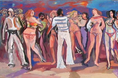 Lin Delija, pikturë