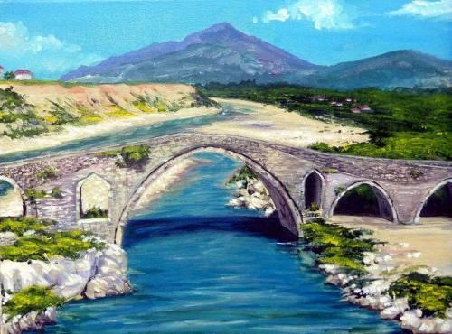 Ura e Mesit, pikturë