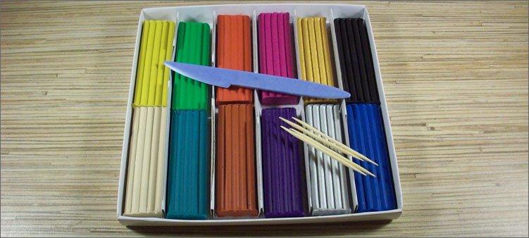 Түрлі-түсті пластилин