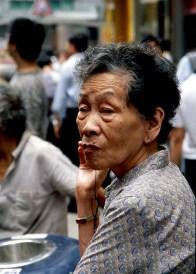 Hong Kong - smoke break