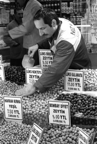 I love olives! In the Grand Bazaar in Istanbul, there were so many choices!