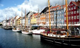 You know all those postcard perfect shots you see of Copenhagen? This is probably where they depict: Nyhavn. I suggest just checking it out as you keep on walking toward Christianshavn and Christiana.