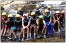 Briefing before canyoning.