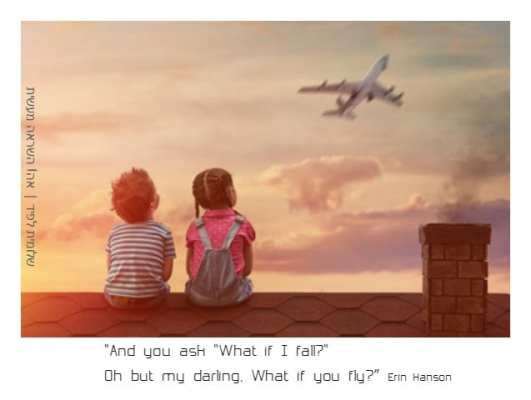 what if you fly | שלומית לפיד | אה! השראה מעשית
