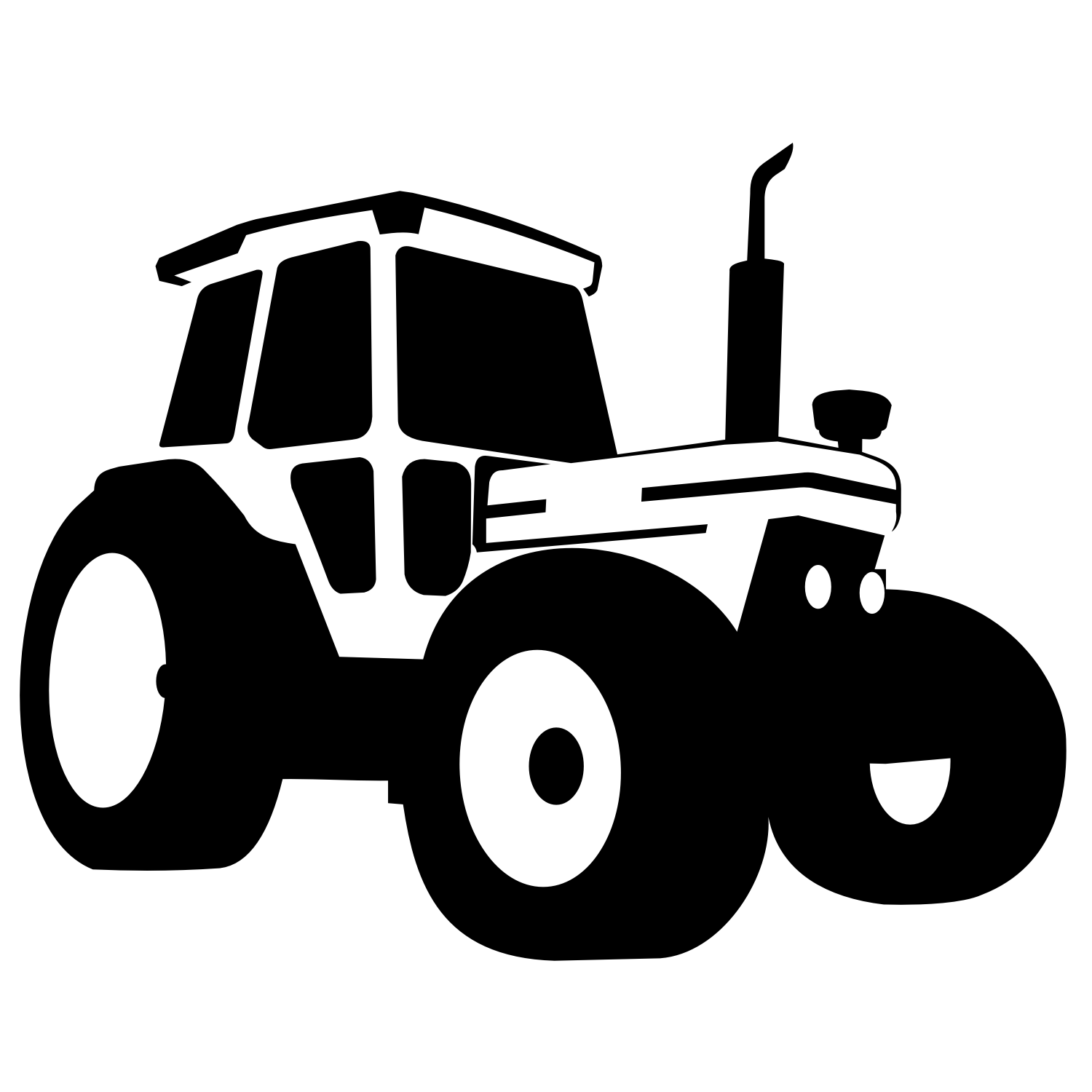 Vector For Free Use Tractor Vector