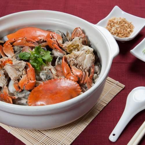 紅蟳海鮮粥