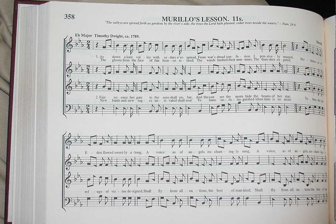 A favorite Sacred Harp song