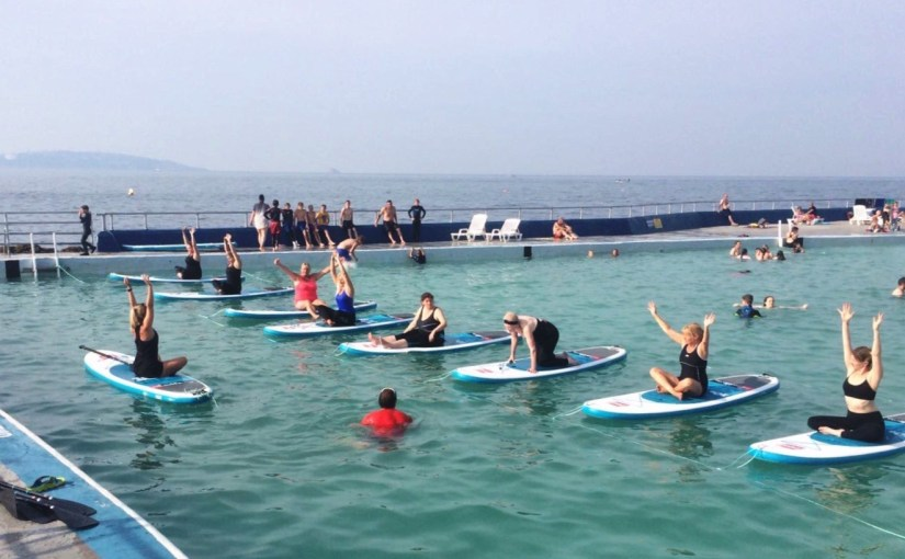 SUP Fitness at Shoalstone Pool