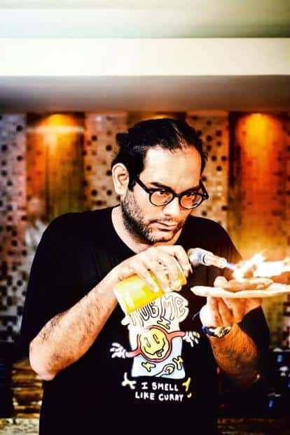 Gaggan Anand loves food science and often tweaks standard ingredients into unconventional forms. Photo: Nathan G/Mint