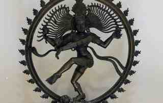 Lord Shiva in the iconic Nataraja pose