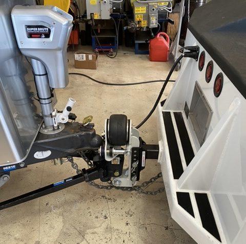 Shocker Air Equalizer Installed