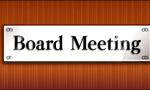 first board meeting
