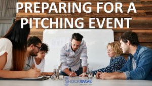 preparing for pitching event