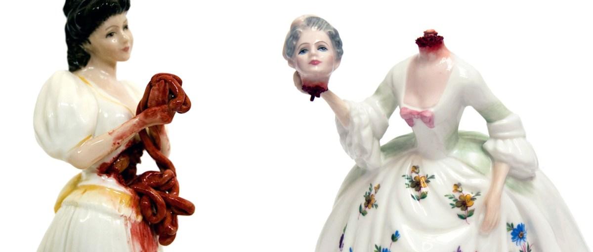 La porcelaine GORE de Jessica Harrison, pour redécorer le buffet de mémé.
