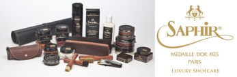Saphir Medaille d'or Shoe Polish is considered by shoe aficionados to be the best shoe polish in the world.