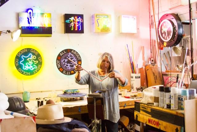 In the Studio with Linda Sue Price