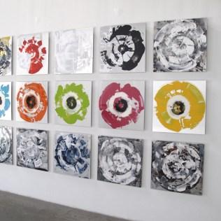IORILLO Gyres Wall 15 @ 24 x 24
