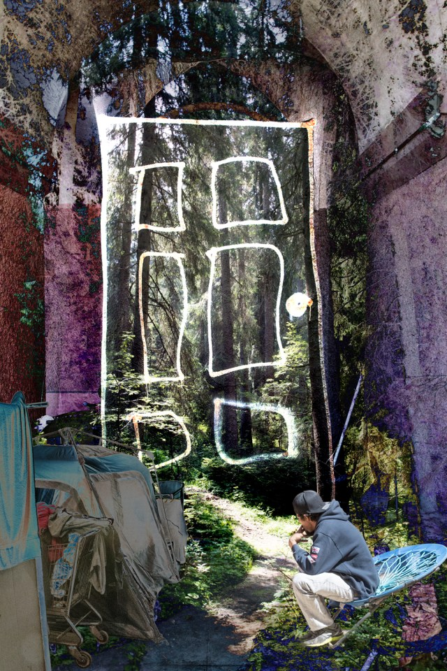 Cathy Immordino at the California Center for Digital Art in Santa Ana Opening August 4th