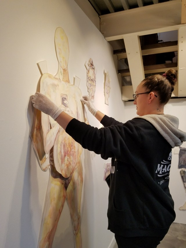 Sheli Silverio, Be A Lady – opening at Shoebox Projects