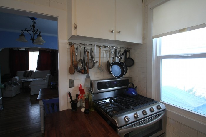 Small Kitchen Remodel Shoebox Dwelling Finding Comfort
