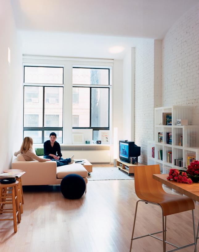 Ny Loft Shoebox Dwelling Finding Comfort Style And
