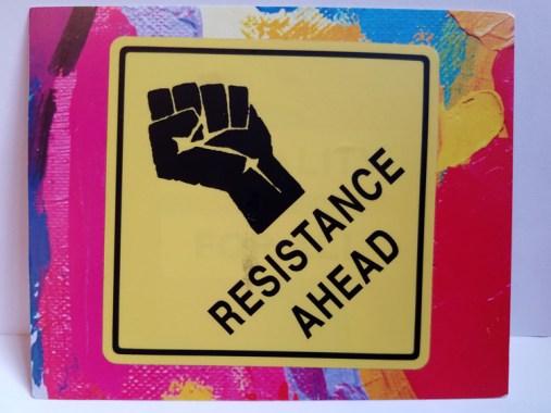 Resistance Ahead
