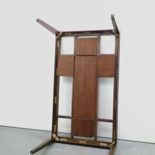 "Thinh Nguyen ""It's Been Under The Table"" Found dinning table 72x42x30 inches 2020 http://thinhstudio.com/"