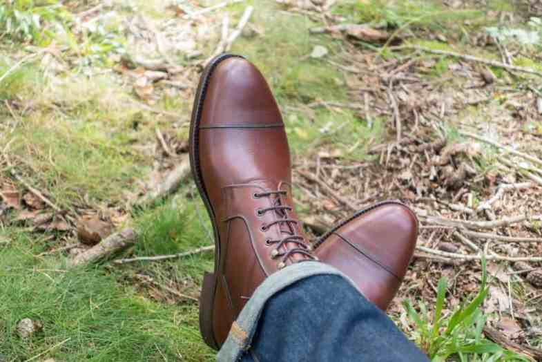 A very versatile boot made of vegetable tanned Swedish leather.