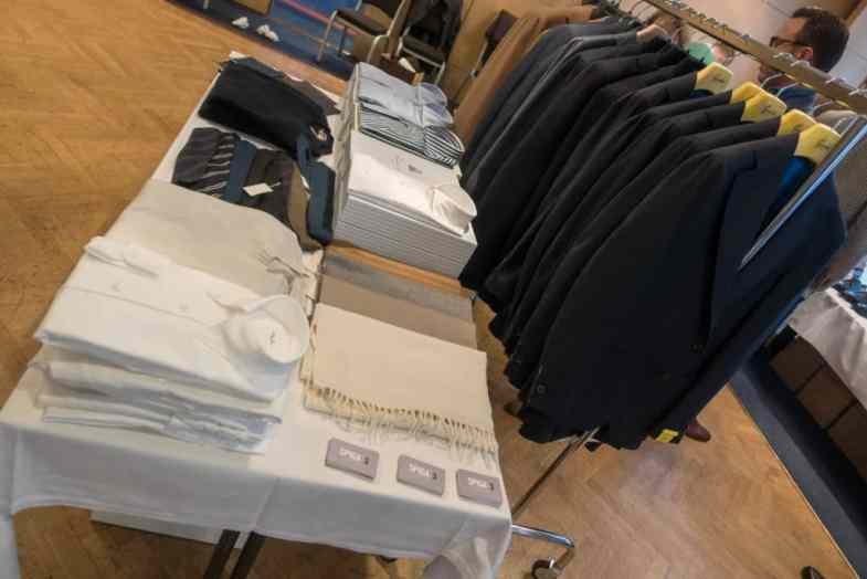 Spiga had brought a small selection of what they have to offer in their Gothenburg store and online.
