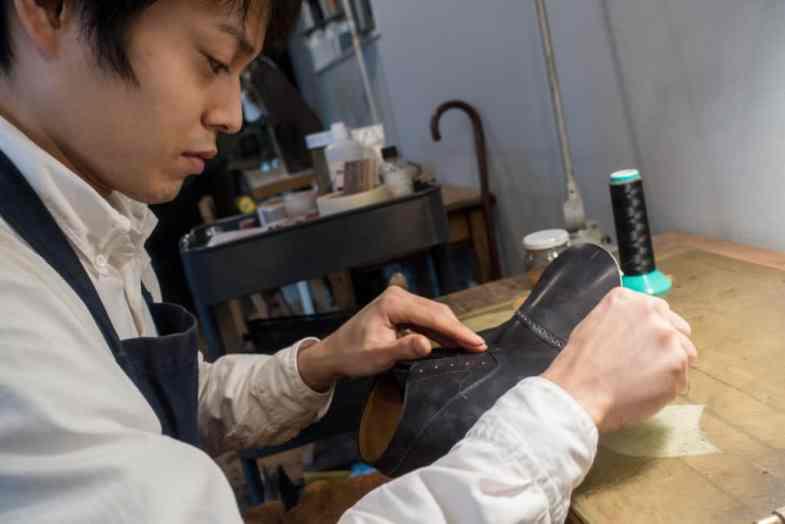 The other apprentice Akihiro Fujita.