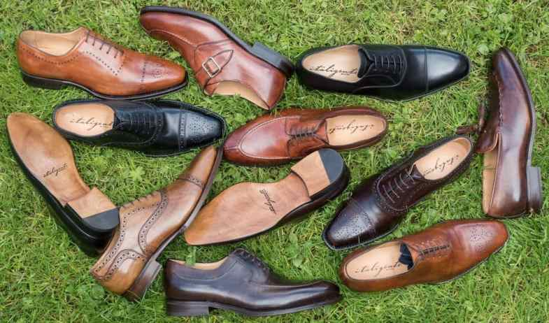 Shoes from Italigente.