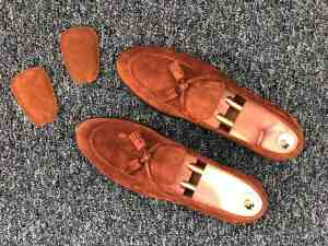 The tip - Fix loose loafers with tongue pads
