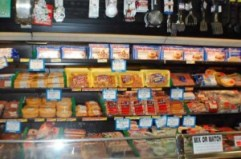 Cheeses, sausages, fresh meats - better than you'll find at the big box stores