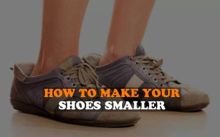 How to make your shoes smaller