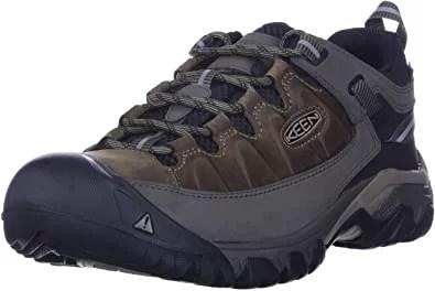 KEEN Men's Targhee III Waterproof Leather Hiking Shoe