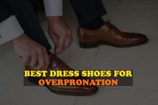 best dress shoes for overpronation