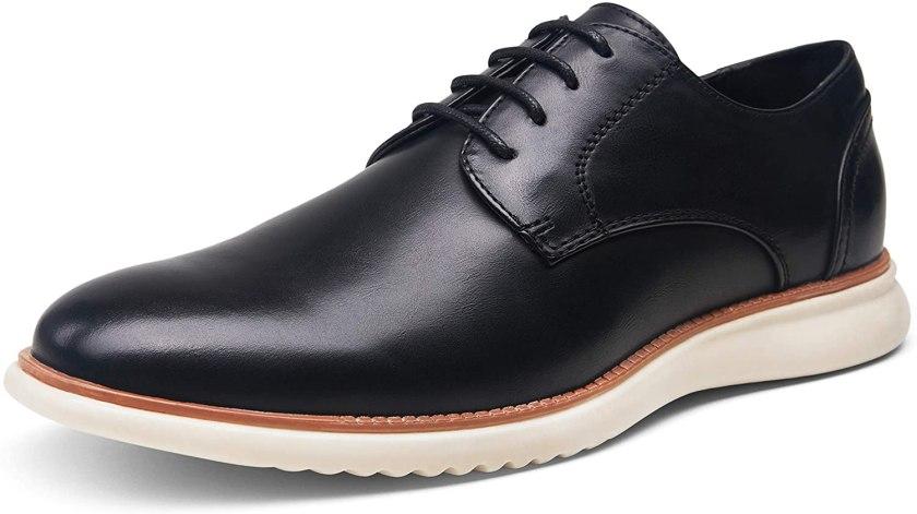 Jousen Men's Dress Shoes Brogue Formal Lace Up Oxfords Shoes