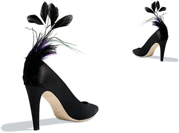 feather-shoes
