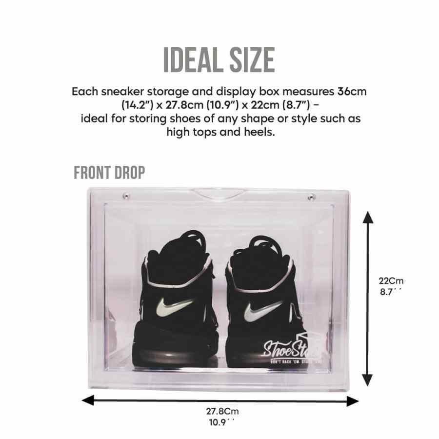 large size sneaker storage box