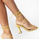 Sandália salto taça verão 2021 amarrações amarelo yellon shoes to love loja online calçados femininos tendencias (6)