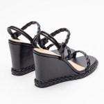 sandalia feminina anabela plataforma flatform verão 2021 preta black detalhes em trança shoes to love loja online calçados femininos tendencias (41)
