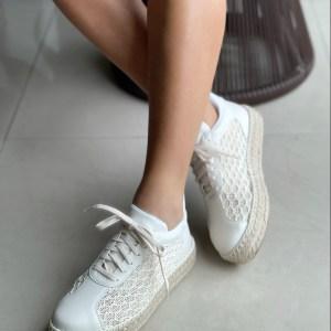 Espadrille-Flatform-Tecido-Gabriela-Off-White-solado-em-corda-natural-verao-2022-loja-online