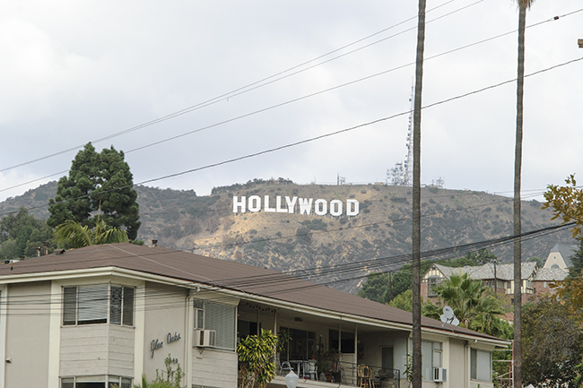 View from Beachwood Drive