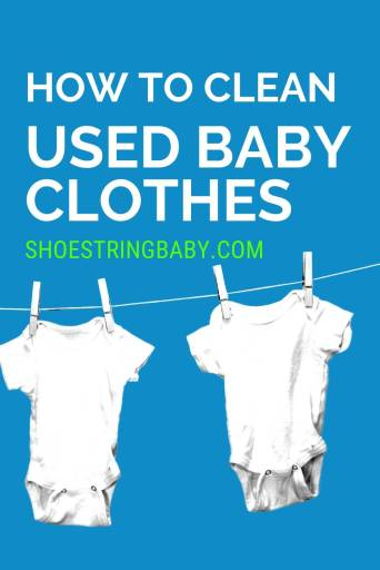 clean baby clothes with ingredients in your kitchen