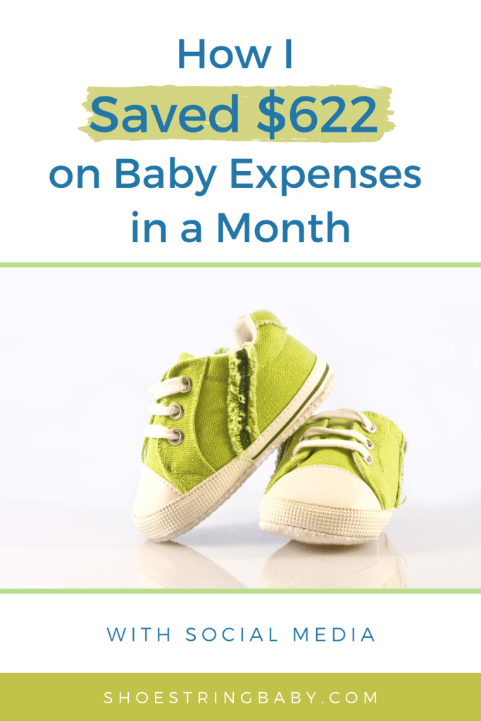 How I Saved $633 on Baby Expenses in a Month